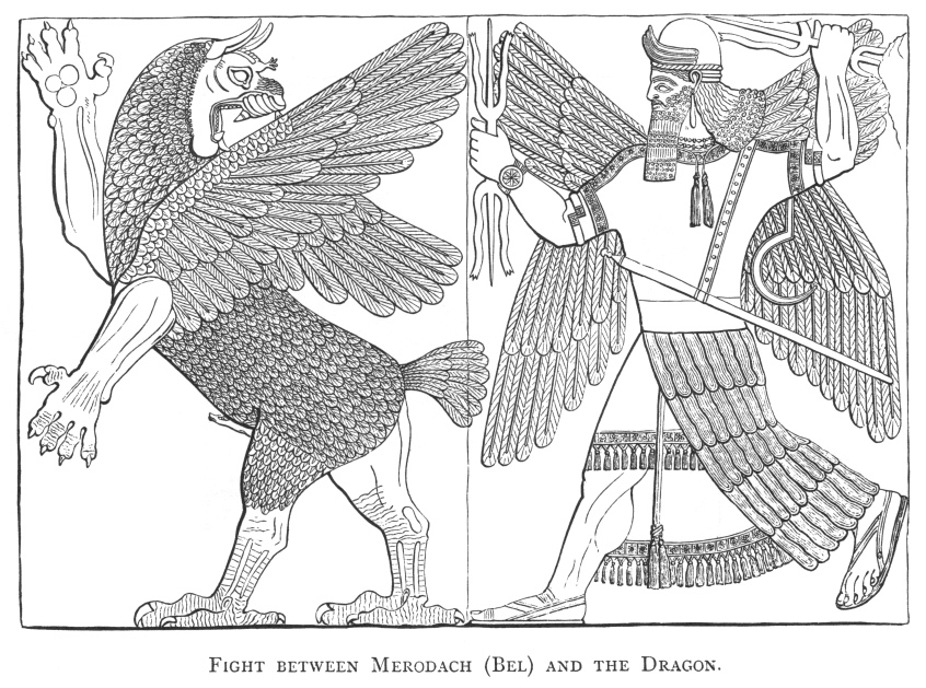 sumerian coloring pages - the chaldean account of genesis title page
