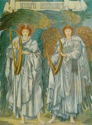 Angeli Laudantes, by Sir Edward Burne-Jones (public domain image)