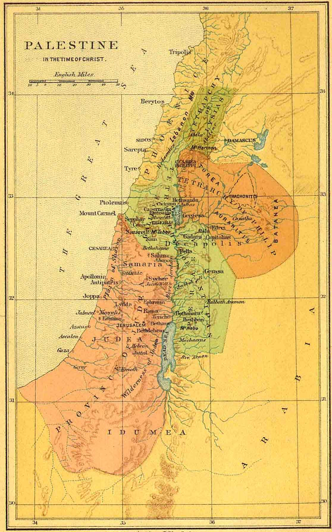 Bible Maps Bible Maps - Map of egypt in bible times