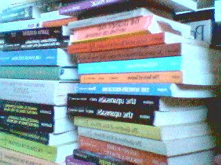 Big stack o' books: &copy Copyright J.B. Hare 1999, All Rights Reserved