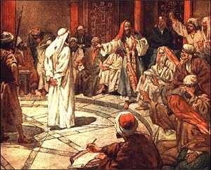 what was the relationship between jesus and sanhedrin