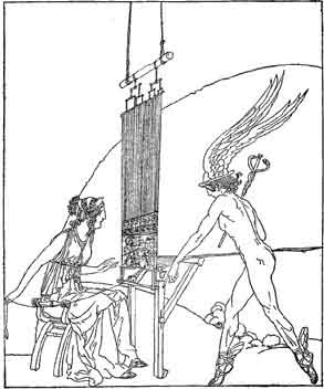 zeus role in the odyssey