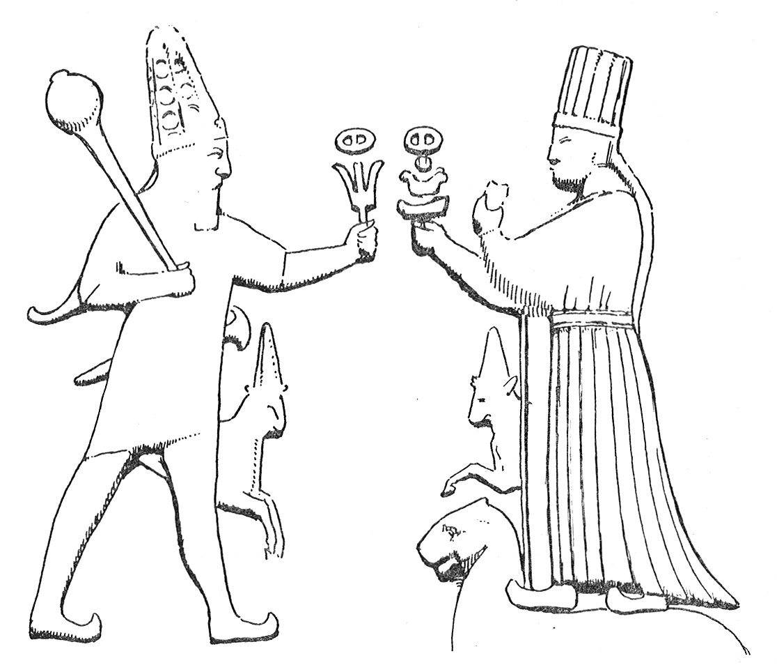 The syrian goddess introduction the chief hittite god and goddess at boghaz keui biocorpaavc Image collections