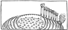 Figure 12. Seven Walled City, from 1481 Dante