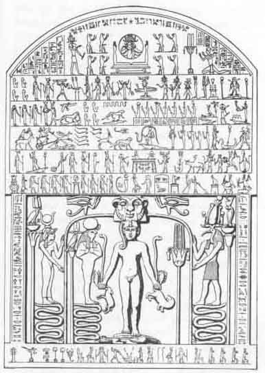 Egyptian Magic: Chapter IV  Magical Pictures and Formulæ, Spells, Etc