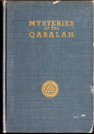 mysteries of the qabalah  title page