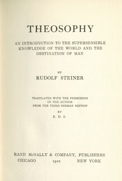 theosophy  title page