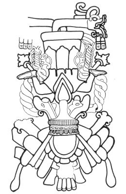 2000 stripling warriors coloring pages | Dioses Mayas/Mitología Maya - Taringa!