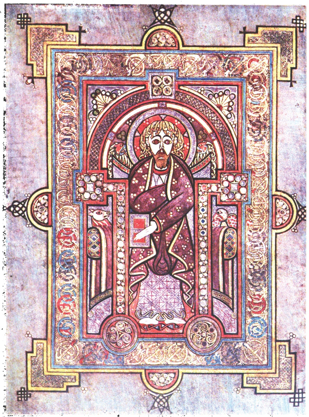 Irish Illuminated Art From The Early Medieval Period
