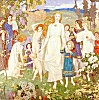 The Coming of Bride, by John Duncan (color image of original painting)