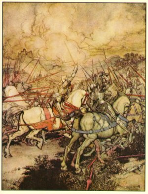 a comparison of excalibur and le mort darthur Le morte d'arthur thomas malory  and so he sends bedivere to throw  excalibur into the lake nearby, then return and tell what he has seen bedivere  hides.