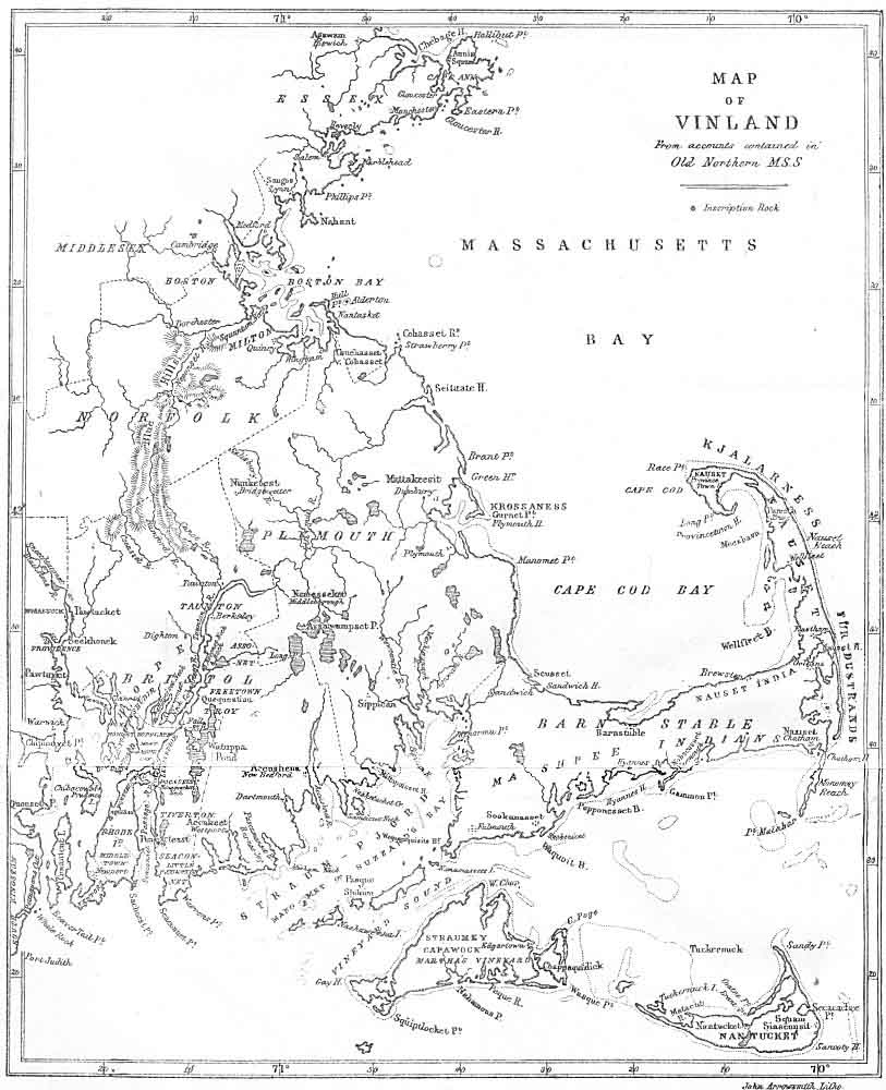 Vinland Map High Resolution MAP OF VINLAND from accounts