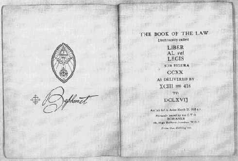 book of the law
