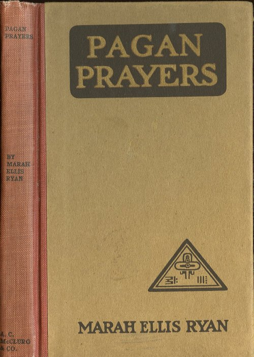 pagan prayers  title page