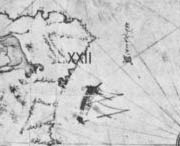 Oldest Map Of America.Key To The Piri Re Is Map