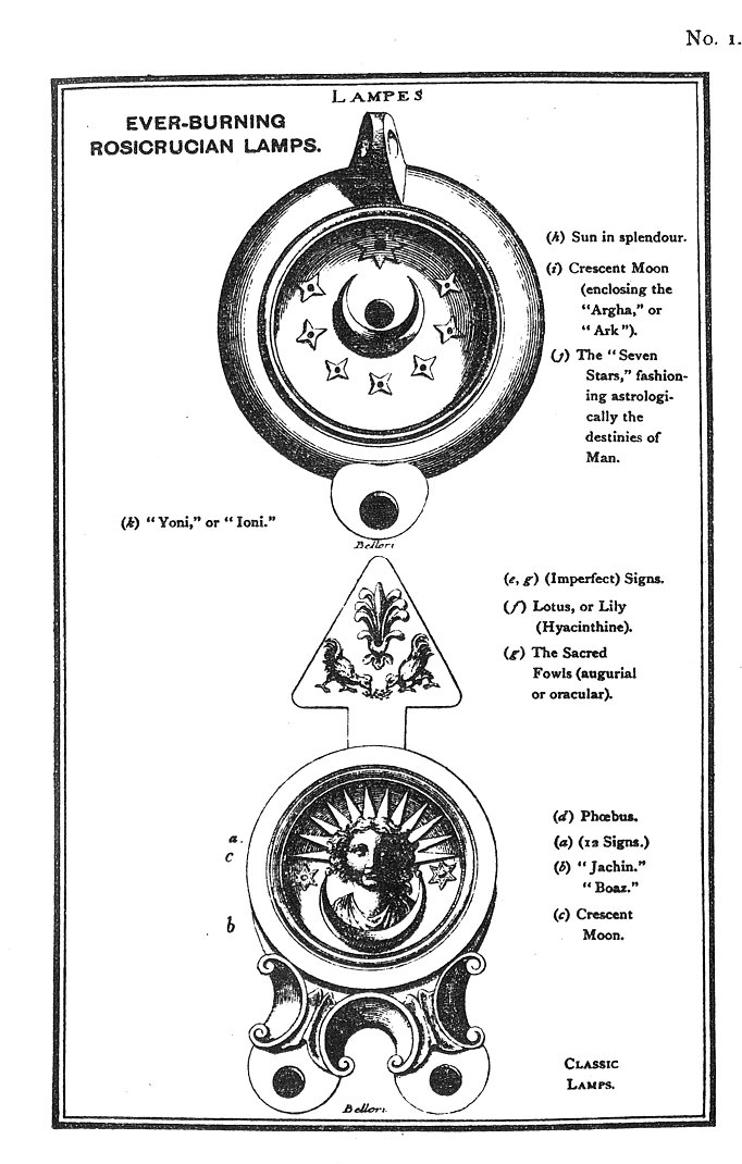 The Rosicrucians Plates Plate 1 Ever Burning