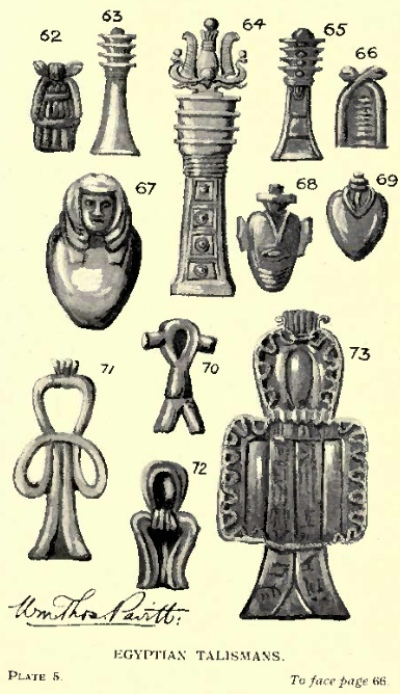 The Book Of Talismans Part I Amulets And Talismans Chapter Vii