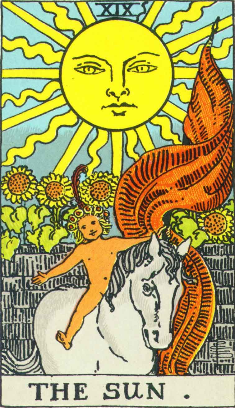Tarot Card Comparison: The Sun
